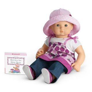 New American Girl Bitty Baby Berry Outfit Retired Twins Doll Purple