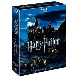 Harry Potter Complete 8 Film Collection Blu Ray 8 Disc Box Set 2011