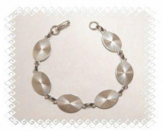 10 Silver Tone Large Oval Pad Link Bracelet Blank Forms