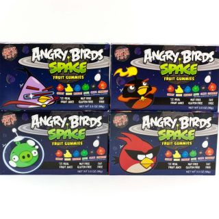 Boxes Angry Birds Space Fruit Gummies Halloween Candy Party Favors