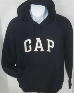 Gap Mens Navy Blue Logo Hoodie Sweatshirt Sizes s XXL