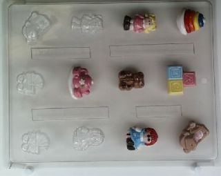 Baby Girls Toys Bite Size Chocolate Candy Mold