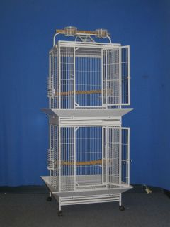 x69 double stack Parrot Bird cage Cages birds stand perch DWI2424 S