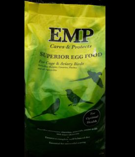EMP Superior Egg Food for Birds 1kg Pet Bird Eggfood