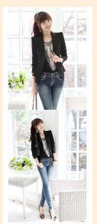 New Fashion Womens Spring Blazers One Button Elegant Office Ladys