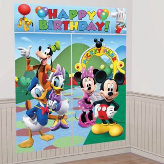 Mickey Mouse Clubhouse Huge Wall Decoration Birthday Party New