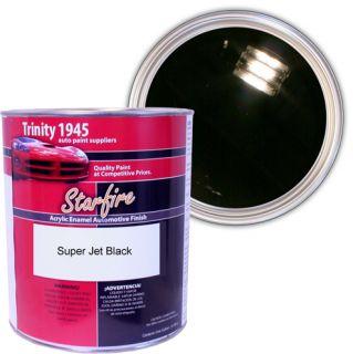 Gallon Super Jet Black Acrylic Enamel Car Paint