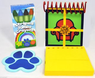 BLUES BIG BIRTHDAY HANDY DANDY NOTEBOOK BLUES CLUES THINKING CHAIR