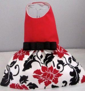 Coco Red n Black Dog/Pet/ Apparel Dress XXS,XS, SM  Beautiful Dress