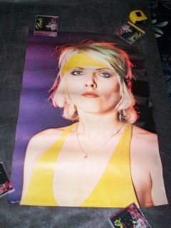 Blondie Workout Debbie poster Debbie Harry in yellow Pace