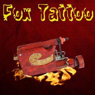Pro Rotary Motor Tattoo Machine Gun Strong Hybrid Blood