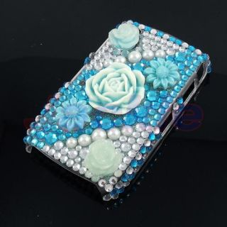 Bling Rhinestone Hard Case for Blackberry Curve 8520 A6