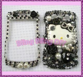 Swarovski Bling Hello Kitty Blackberry 9780 Case 47