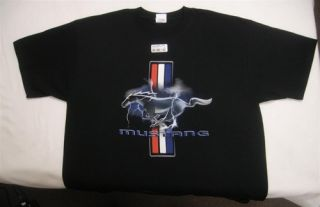 New Tasca Racing Black Ford Mustang Teek Shirt by Bob Tasca III Free