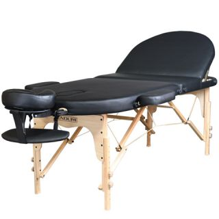 Spa Equipment Tattoo Portable Black Massage Table MT 06