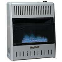 KOZY WORLD BLUE FLAME VENT FREE VENTLESS NATURAL GAS SPACE WALL HEATER