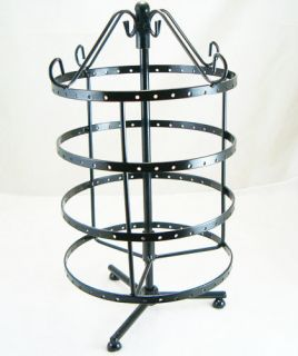 Black Jewelry Holder Display Rack for Earrings D016