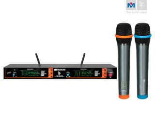 2012 BMB VM82U G3 Dual CH UHF Wireless Microphone System Better Music
