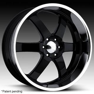 24 x10 Boss 330 3302 Black Wheels Rims 5 6 8 Lug