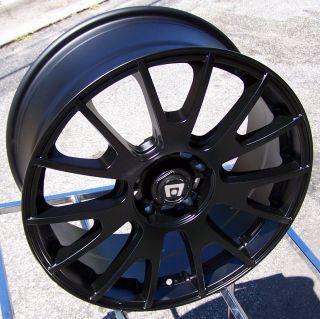 18 Black Wheels Rims Altima Mustang Civic TL Caliber Fusion Nitro