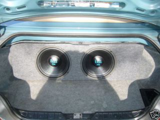 Custom Dual Subwoofer Enclosure Trunk Box for BMW Z3