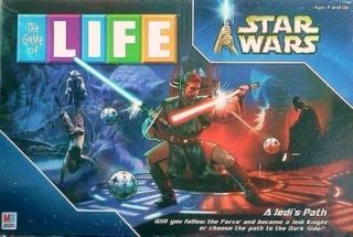 Star Wars Game of Life A Jedis Path Board Game