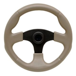 Tracker 129689 Taupe 13 inch Boat Steering Wheel