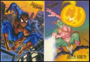 Spider Man Fleer Ultra 1995 Complete Premiere Edition Trading Card Set