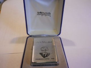 Lighter Lot New in Box 1998 George Blaisdell Zippo Founder 1932