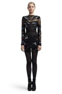 Mesh Sequin Zebra Print Dress Blake Lively Gossip Girl 38 4