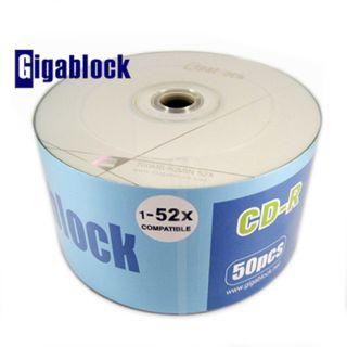 500pcs CD R 52x A Grade Logo Top Blank Media Free Priority Upgraded