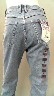 Bill Blass Jeans Misses 10 Stretch Stone Wash Skinny Light Blue Denim