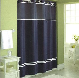 Navy Shower Curtains On Popscreen