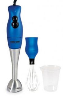 DualPro 200 Watt Handheld Immersion Blender/Hand Mixer IM 808 BLUE