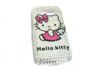 Hello Kitty Hard Rhinestone Bling Case Cover Nokia E71