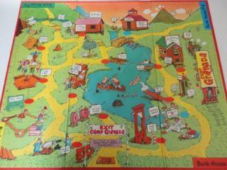 Camp Granada Board Game 1965 by Milton Bradley RARE NM