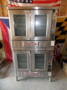blodgett double deck lp gas convection ovens fa 100