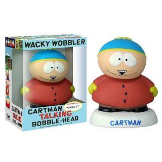 Wacky Wobbler South Park Talking Cartman bobble Funko 083759