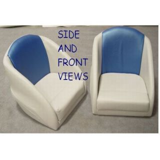 Custom Boat Bucket Seat Pair Seats