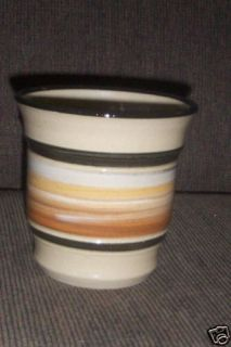 Bloomington Pottery Company Pot Beige Brown Blacks