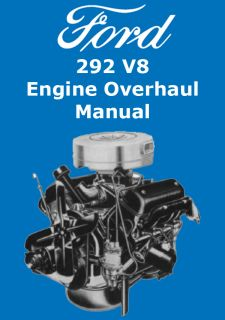 Ford V Y Block Engine Overhaul Manual On Cd