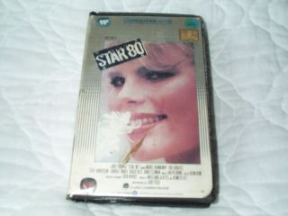 80 VHS Mariel Hemingway Dorothy Stratten Bob Fosse 085392001330