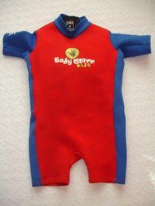 Child Body Glove Life Jacket Vest PFD Neoprene Shorty Wet Suit s 30 40