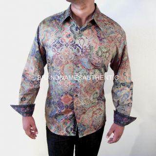 ROBERT GRAHAM Men GOTH LIMITED EDITION Shirt Paisleys Floral Cuffs NWT
