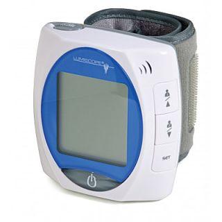 Talking Wrist High Blood Pressure Cuff Monitor w Alert