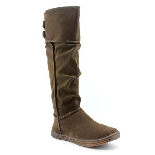 Blowfish Ridley Womens Size 10 Brown Synthetic Fashion Knee High Boots
