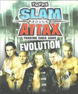 Topps WWE Slam Attax Evolution Legends Trading Card See Cards