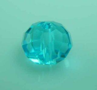 Nice 72 Pcs Lake Blue Swarovski Crystal 8mm Beads 5040 No 4