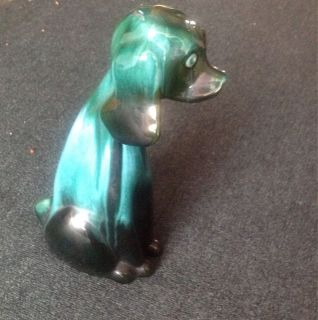 Blue Mountain Pottery Dog 1970s Genuine Blue Mountain RARE Piece Very