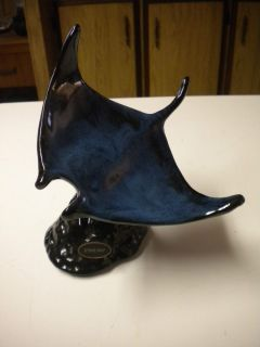 Blue Mountain Pottery Sting Ray Figurine Nice